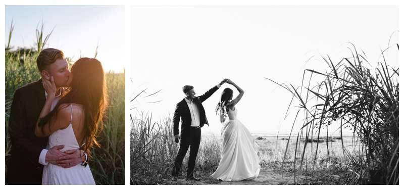 Honeymoon elopement in Costa Rica in Tamarindo. Photographed by Kristen M. Brown of Samba to the Sea Photography.