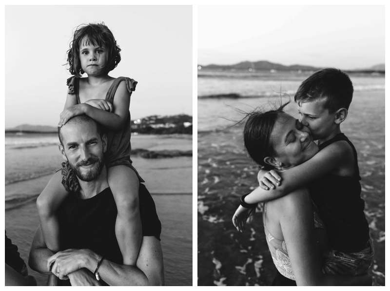 Lifestyle family photos in Costa Rica. Photographed by Kristen M. Brown of Samba to the Sea.