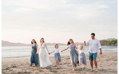 Family Elopement in Tamarindo Costa Rica || Elam Family