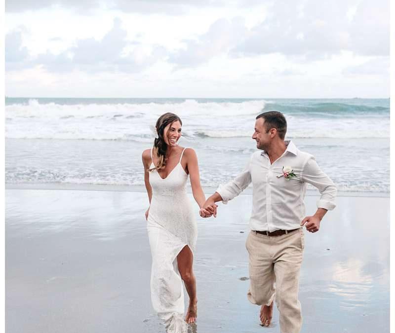 Intimate Destination Wedding in Manuel Antonio Costa Rica || Kristin + Andrew