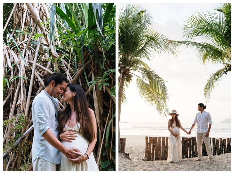 Babymoon in Costa Rica maternity photos. Photographed by Kristen M. Brown of Samba to the Sea.