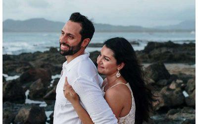 Anniversary Photos in Costa Rica || Hadey + Mo