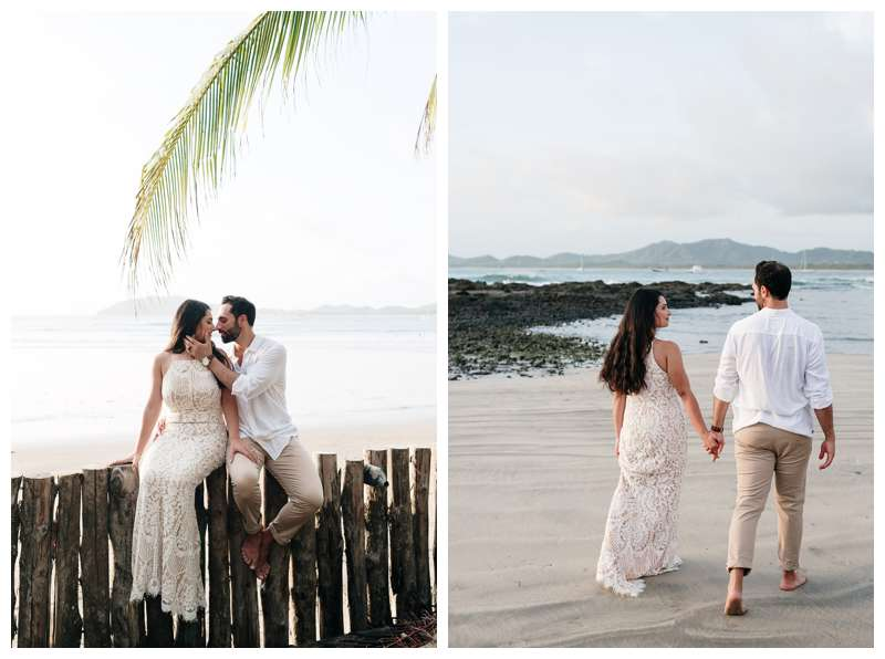 Anniversary photos in Costa Rica. Photographed by Kristen M. Brown of Samba to the Sea Photography.