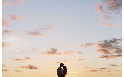Honeymoon Photos on the beach in Costa Rica || Kristen + Darien